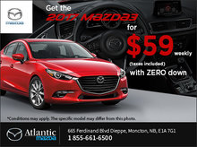 Get the 2017 Mazda3 Today!