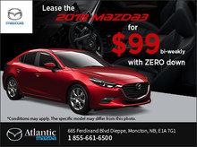 Lease the 2018 Mazda3