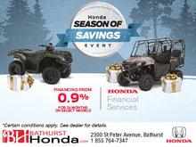 Bathurst Honda's Season of Savings Event!