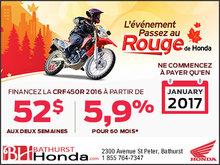 L'événement passez au rouge de Honda