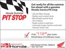 Honda Summer Pit Stop