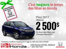 Obtenez la Honda Pilot 2017 aujourd'hui!