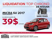Nissan Micra SV 2017