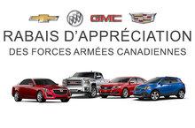 Rabais d'appréciation- des forces armées Canadiennes
