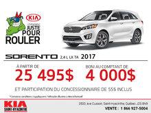 Le nouveau Kia Sorento 2017