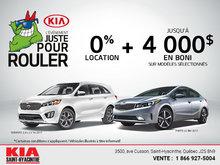 L'Événement juste pour rouler chez Kia Saint-Hyacinthe