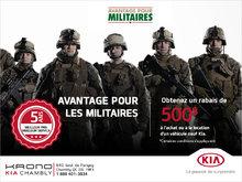 Avantage militaires