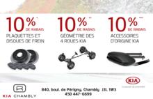 Promotions de Kia Canada