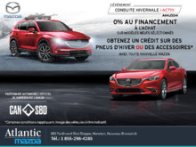 L'événement Conduite hivernale i-ACTIV Mazda