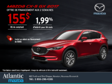 Obtenez la Mazda CX-5 2017 aujourd'hui!