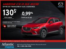 Procurez-vous le Mazda CX-3 2018 aujourd'hui!