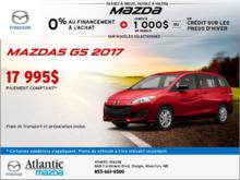 Le tout nouveau Mazda5 GS 2017