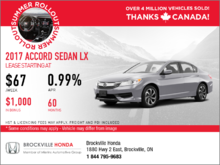 Save on the 2017 Honda Accord LX Today!