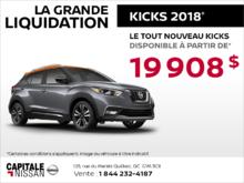 Le tout nouveau Nissan Kicks 2018 chez Capitale Nissan