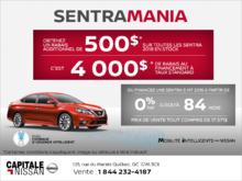 L'événement Sentra Mania chez Nissan! chez Capitale Nissan