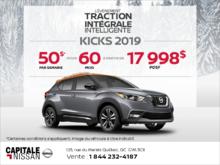 Obtenez le Nissan Kicks 2019 dès aujourd'hui! chez Capitale Nissan