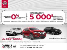 L'événement là chez Capitale Nissan