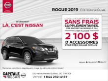 Louez le Nissan Rogue 2019! chez Capitale Nissan