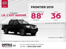 Obtenez le Nissan Frontier 2019 dès aujourd'hui! chez Capitale Nissan