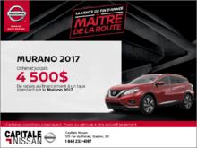 Nissan Murano 2017 chez Capitale Nissan