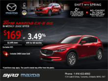 Save on the 2018 Mazda CX-5 Today!