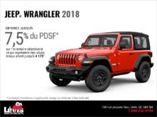 Conduisez un Jeep Wrangler 2018!