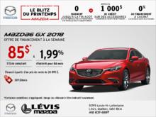 Financez la Mazda6 2018!
