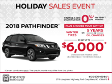 Get the 2018 Nissan Pathfinder Today!