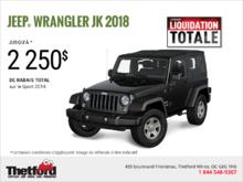 Conduisez un Jeep Wrangler 2018