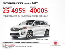 Achetez la Kia Sorento 2017