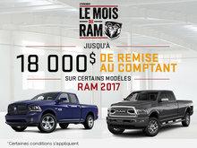 La vente mensuelle de RAM