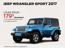 Jeep Wrangler Sport 2017 en rabais