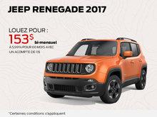 Jeep Renegade 2017 en rabais!