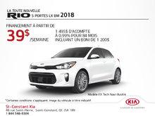 Achetez la Kia Rio 5 portes 2018