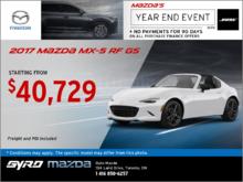 The 2017 Mazda MX-5 RF GS!