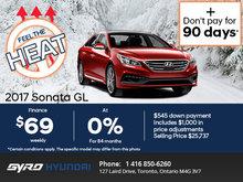 Save on the 2017 Hyundai Sonata!
