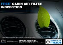 Kentville Mazda: Free Cabin Air Filter Inspection!