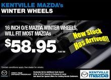 Kentville Mazda's Winter Wheels