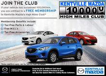 Kentville Mazda High Miles Club