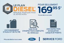 Le plan Diesel efficace, pour que vous le soyez aussi.