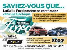 LaSalle Ford certification véhicule électrique