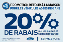 PROMOTION RETOUR À LA MAISON, pour les véhicules agées de 6 ans