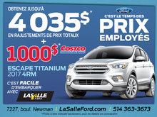 Ford Escape titanium 2017 4RM