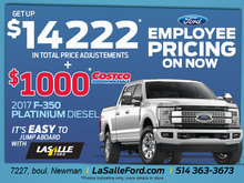 2017 Ford F-350 Platinum Diesel