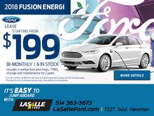 2018 Fusion Energi