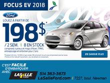 Focus EV 2018