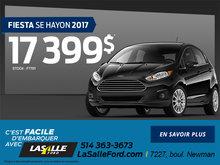 Fiesta SE Hayon 2017