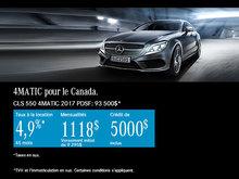 Mercedes-Benz CLS 550 4MATIC 2017 à Ottawa