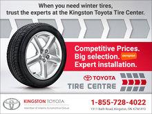 Kingston Toyota's Tire Center