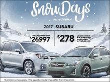 Snow Days with Subaru